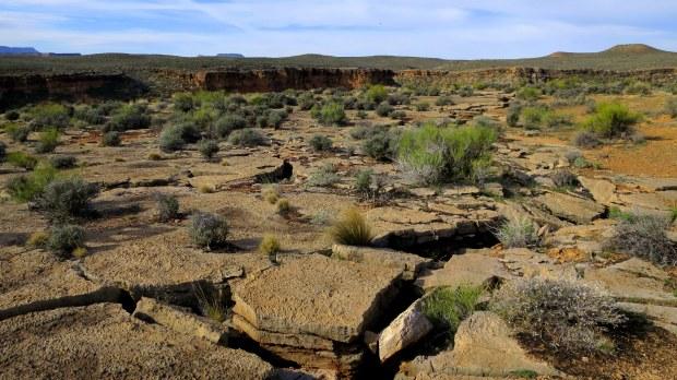 Broken earth, Virgin River Canyon Rim, Utah