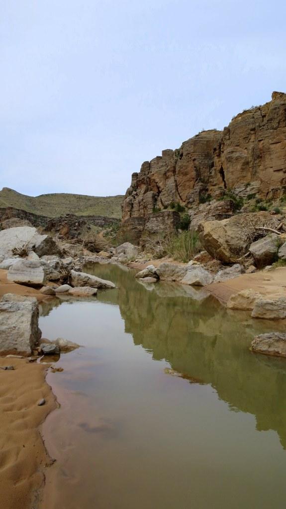 Virgin River, Canal Trail, Hurricane Cliffs Recreation Area, Utah