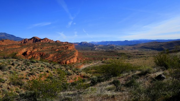 A different angle of the Red Cliffs, Red Cliffs National Conservation Area, Utah