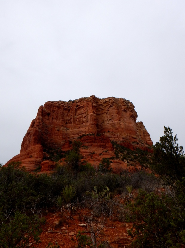 Walking around Courthouse Butte, Bell Rock Pathway, Sedona, Arizona