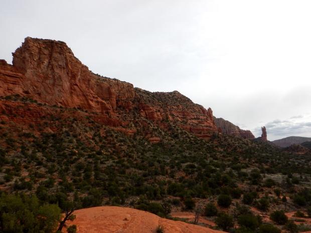 Climbing on Little Bell Rock, Bell Rock Pathway, Sedona, Arizona