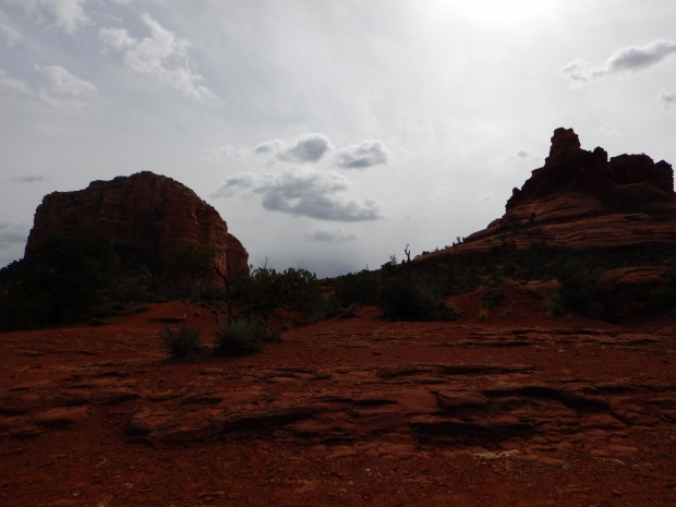 Courthouse Butte and Bell Rock, Bell Rock Pathway, Sedona, Arizona