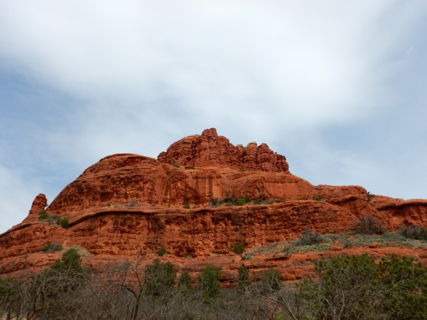 Erosion on closeup of Bell Rock, Bell Rock Pathway, Sedona, Arizona