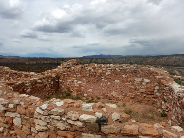 Rooms in pueblo, Tuzigoot National Monument, Arizona