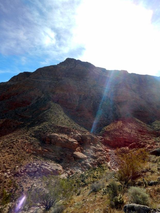 The mountain, Virgin River Canyon Recreation Area, Arizona