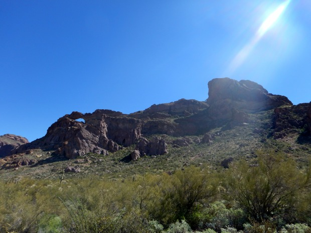 Arch Canyon Trail, Organ Pipe Cactus National Monument, Arizona