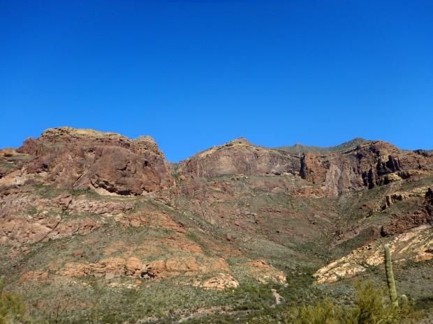 View into Estes Canyon, Bull Pasture Trail, Organ Pipe Cactus National Monument, Arizona