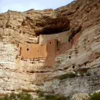 Montezuma Castle National Monument and Montezuma Well, Arizona