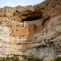 Montezuma Castle National Monument and Montezuma Well, Arizona