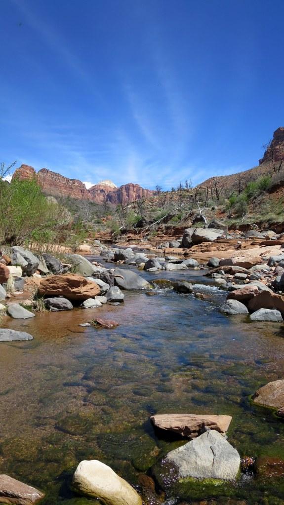 La Verkin Creek, La Verkin Creek Canyon, Zion National Park, Utah