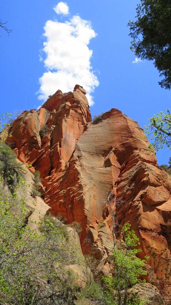 Return hike to Spring Creek Canyon, Utah