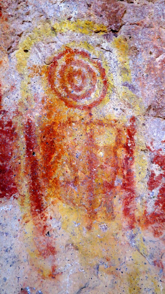 Pictographs, The Lion's Head, Dixie National Forest, Utah
