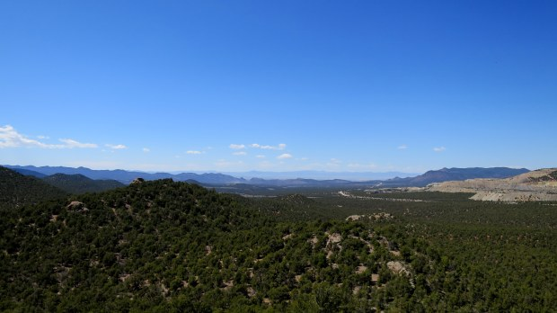 Views from the top of Lion's Head, Dixie National Forest, Utah