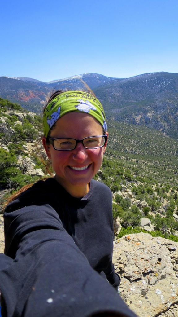 Me at the windy top, Fiddler's Canyon, Cedar City, Utah