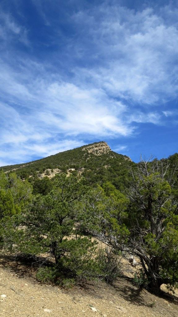 View of the mountain from the base, Fiddler's Canyon, Cedar City, Utah