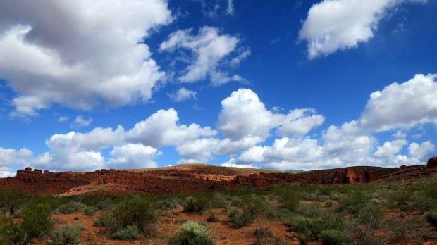 Dino Cliffs Trail, Red Cliffs Desert Reserve, Utah