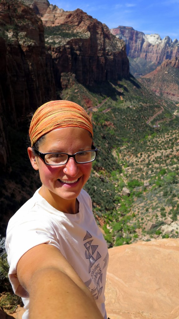 Me, Canyon Overlook Trail, Zion National Park, Utah