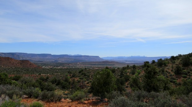 View from near the trail head of Silver Rim Trail, Dixie National Forest, Utah