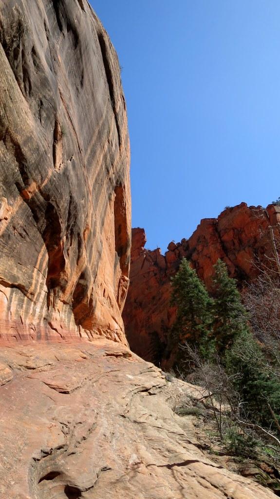 Side wall of Spring Creek Canyon, Utah