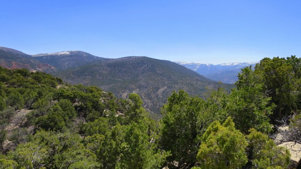 View from false summit, Fiddler's Canyon, Cedar City, Utah