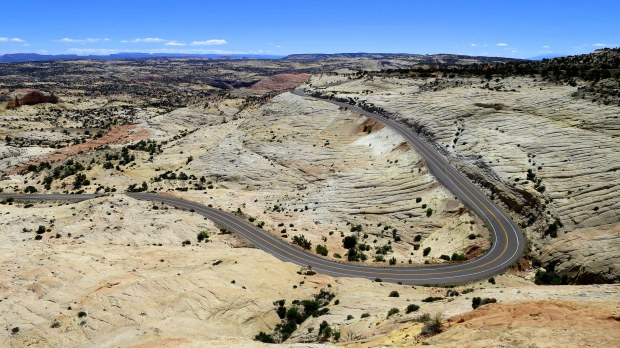 Scenic Byway 12 through Head of the Rocks, Utah