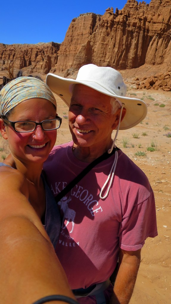Tom and I, Goblin Valley State Park, Utah