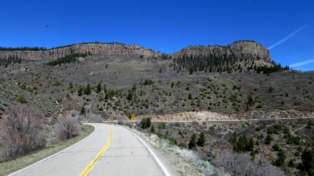 Route 92, Curecanti National Recreation Area, Colorado