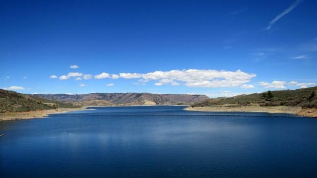 Route 50, Blue Mesa Reservoir, Curecanti National Recreation Area, Colorado