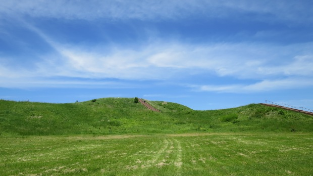Monks Mound, Cahokia Mounds State Historic Site, Illinois