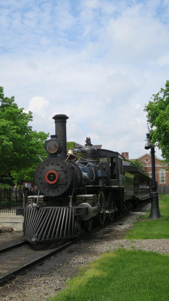 Locomotive, Greenfield Village, Michigan