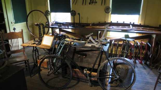 Relocated Wright Brother's bicycle shop from Dayton, Ohio to Greenfield Village, Michigan