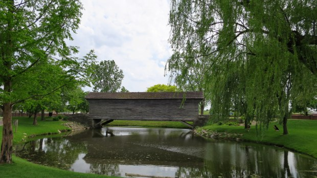 Ackley covered bridge from West Finley, Pennsylvania, relocated to Greenfield Village, Michigan