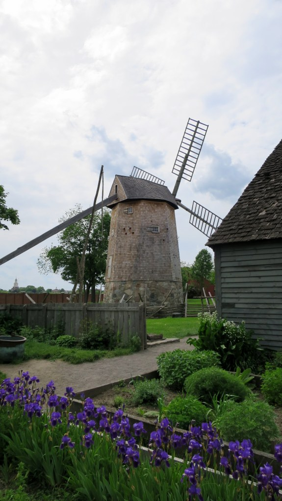 Farris Windmill used to power corn gristmill, mid-17th century, relocated from Cape Cod to Greenfield Village, Michigan