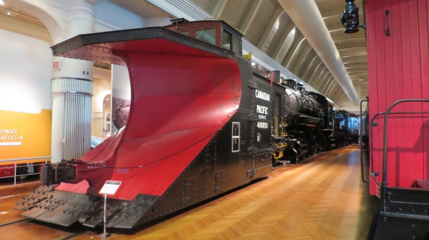 A 20-ton 1923 Canadian Pacific snowplow, The Henry Ford, Dearborn, Michigan
