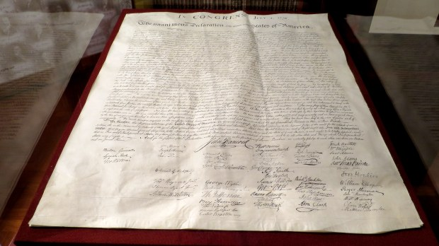 Copy of the Declaration of Independence, The Henry Ford, Dearborn, Michigan