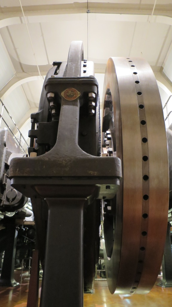 Massive flywheel from Highland Park Generator, The Henry Ford, Dearborn, Michigan