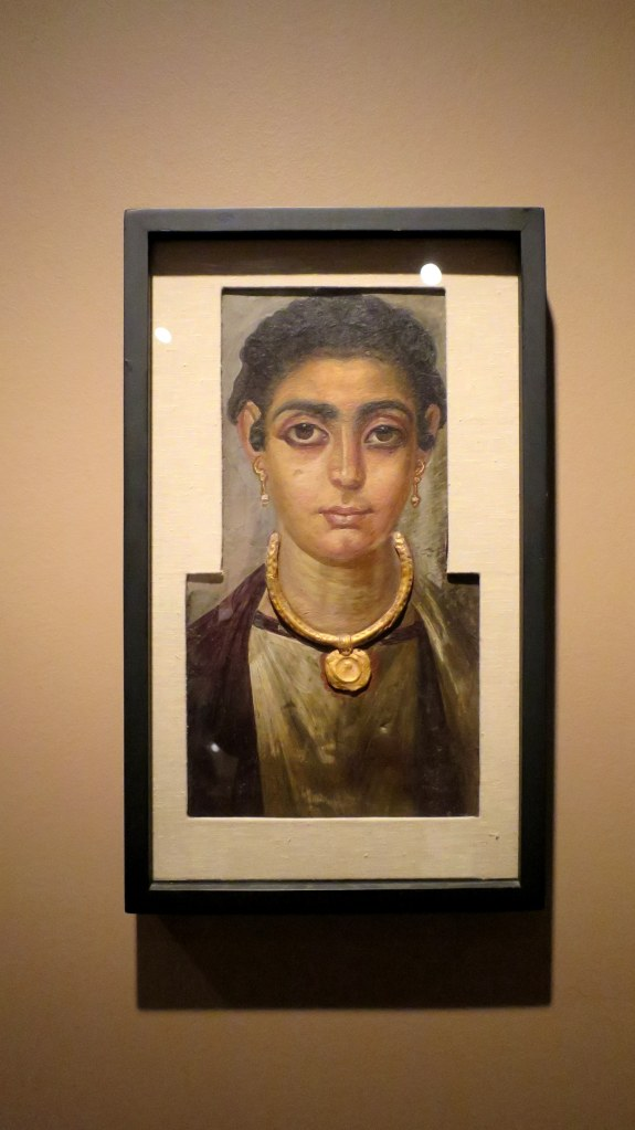 Egyptian-Roman portrait of woman, ca. 130 – 160 AD, Detroit Institute of Arts, Michigan