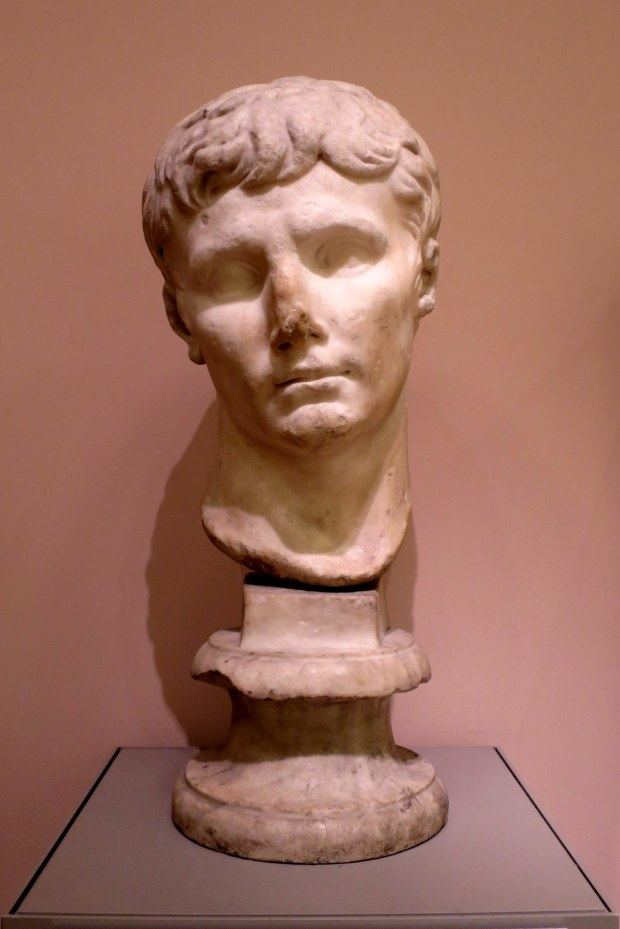 Head of Emperor Augustus, 1st century AD, Detroit Institute of Arts, Michigan