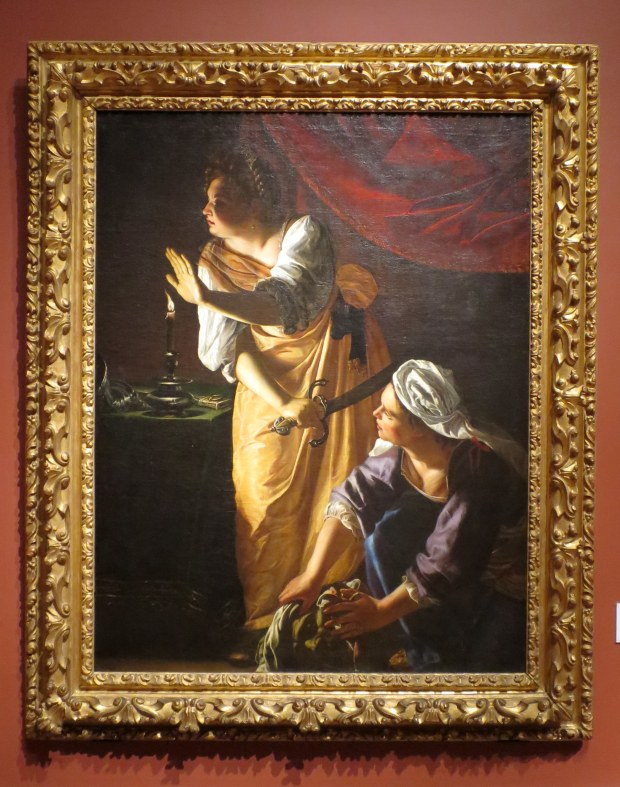 Judith and Her Maidservant with the Head of Holofernes, Artemesia Gentileschi, 1623 – 1625, Detroit Institute of Arts, Michigan