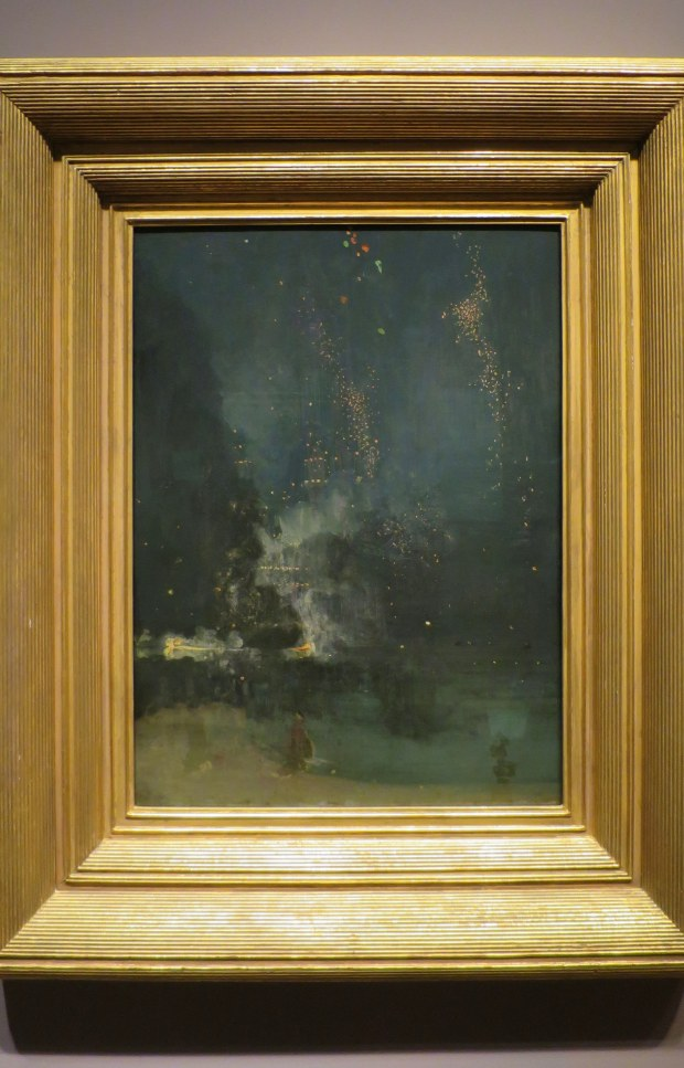 Nocturne in Black and Gold, James McNeill Whistler, 1875, Detroit Institute of Arts, Michigan