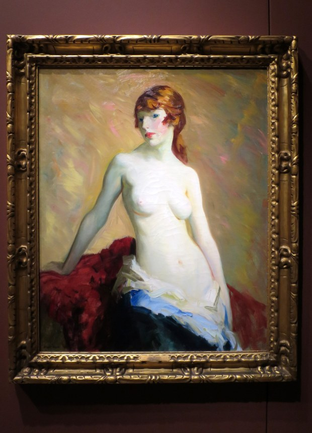 The Young Girl, Robert Cozad Henri, 1915, Detroit Institute of Arts, Michigan