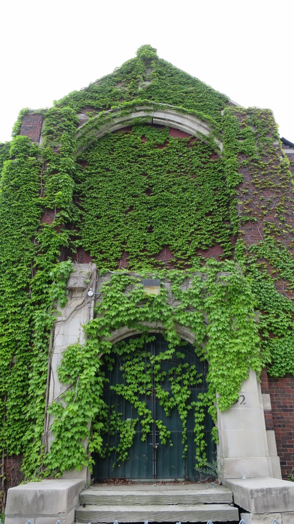 Abandoned church, Detroit, Michigan