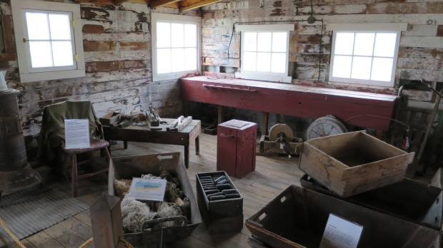 Museum recreation of commercial fishing shanty, Sleeping Bear Dunes National Lakeshore, Michigan