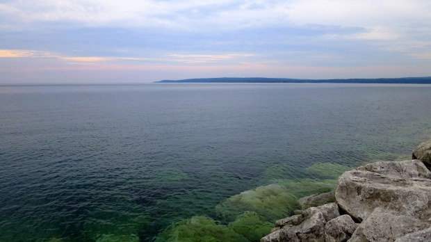 Lake Michigan from Petoskey, Michigan