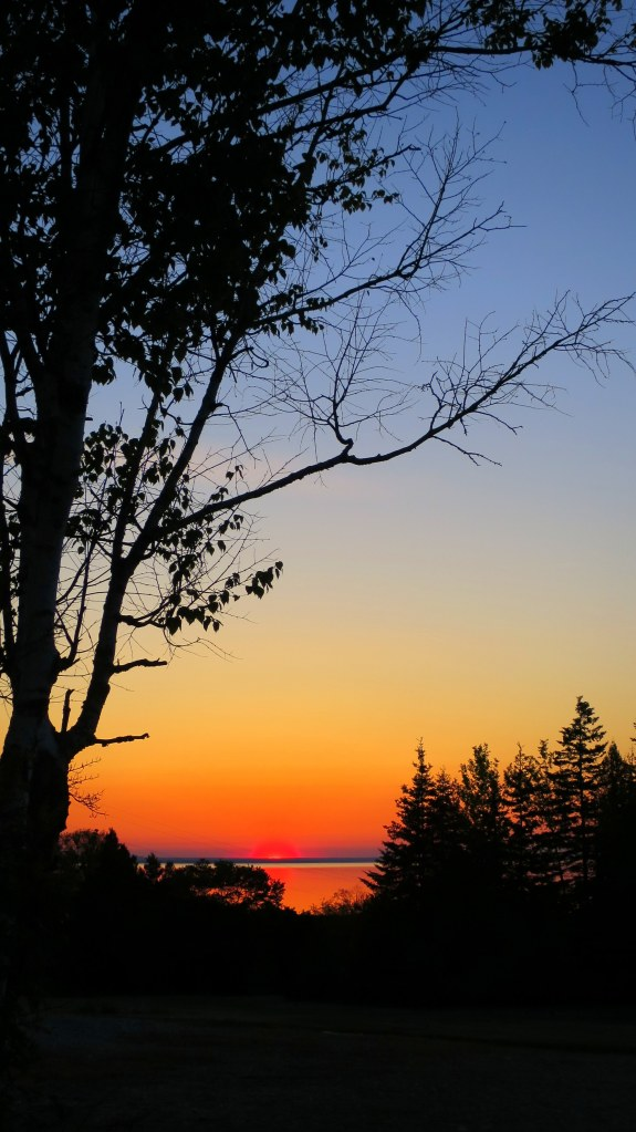 Sunrise, St. Ignace, Michigan