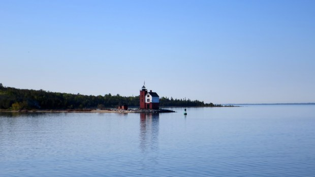 Round Island Lighthouse, Michigan