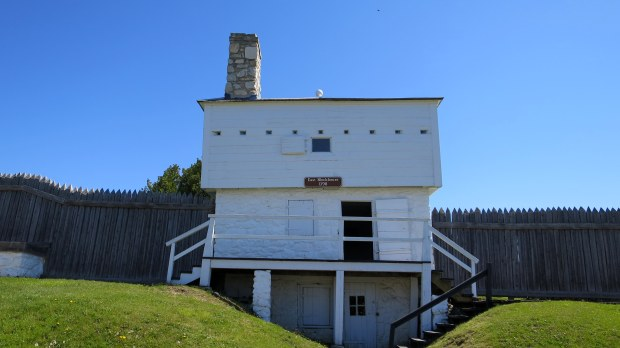 East Blockhouse, 1798, Fort Mackinac, Mackinac Island, Michigan