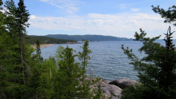 View into the cove, Lake Superior Provincial Park, Ontario, Canada
