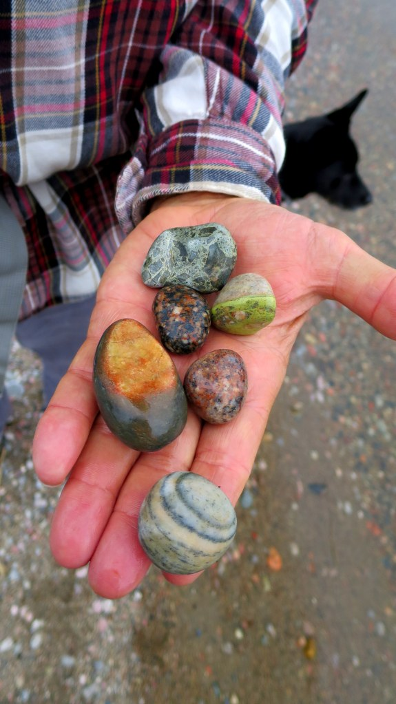 Rocks, Orphan Lake Trail, Lake Superior Provincial Park, Ontario, Canada