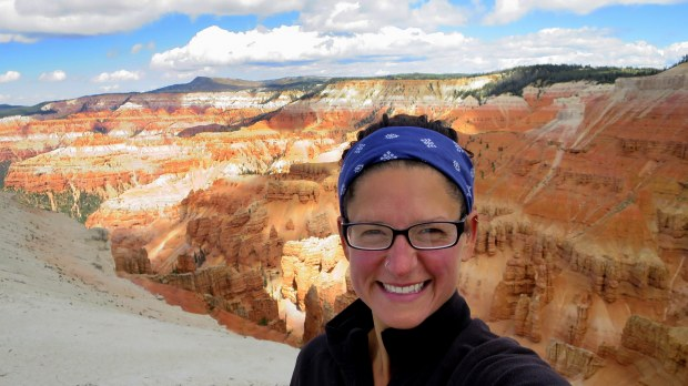 Happy at Cedar Breaks National Monument, Utah